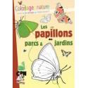 Coloriage nature : les papillons des parcs et jardins