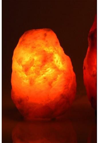 LAMPE CRISTAL DE SEL 1-2 kg sans socle en bois