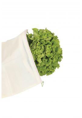 3 Sacs réutilisables XL pour légumes volumineux,  en coton bio