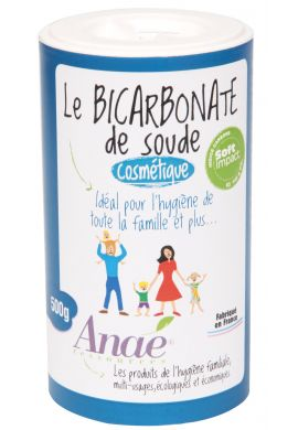 Bicarbonate de soude 500 g COSMETIQUE