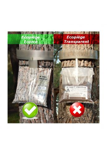 Descente Supplémentaire Transparent (sac+tube)