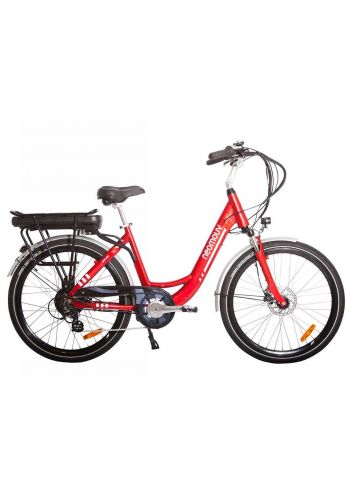 VELO A ASSISTANCE ELECTRIQUE CARLINA rouge 16A NEXUS7 26
