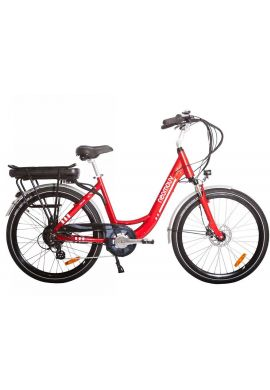 VELO A ASSISTANCE ELECTRIQUE CARLINA rouge 16A NEXUS7 28