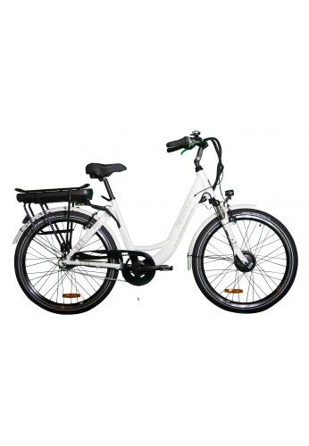 VELO A ASSISTANCE ELECTRIQUE CARLINA blanc 13A NEXUS7 26