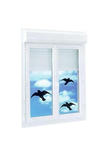 3 Silhouettes d'oiseaux pour éviter les collisions