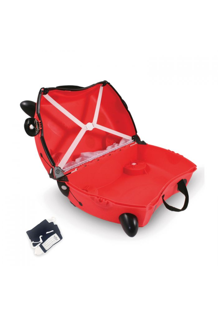 Valise Trunki Harley modèle Coccinelle - Achat Nature