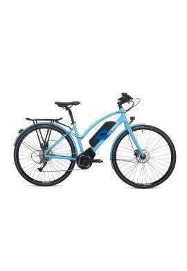 VELO A ASSISTANCE ELECTRIQUE NOVA BROSE 630 Wh bleu classique 44