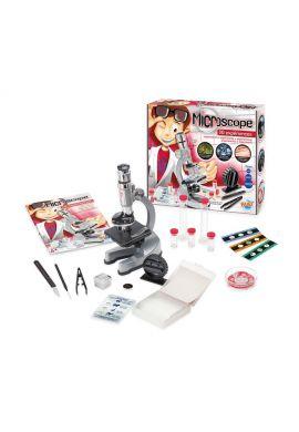 Microscope 30 expériences X 100 à X1000HD