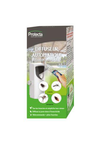 Diffuseur automatique d'insecticides au pyrèthe végétal