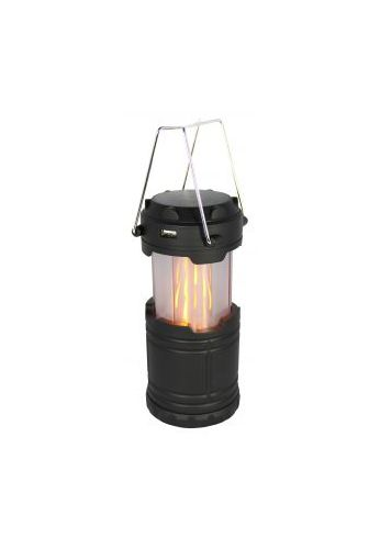 KOALA / LANTERNE SOLAIRE ET USB AVEC LED BLANCHE ET LED FLAMME