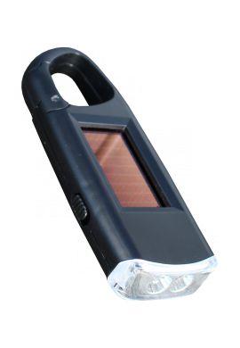 LAMPE DE POCHE SOLAIRE 2 LED / VIPER