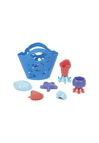 Set de jouets de plage plasqtique récupéré oceanbound