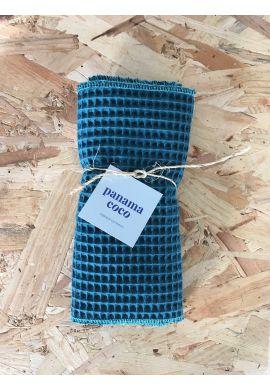 Essuie-tout lavable - 5 feuilles bleues - Oeko Tex