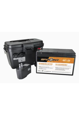 Batterie externe 12v + Chargeur + Boitier Skypoint