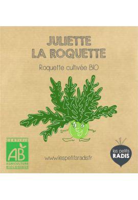 Mini kit de graines BIO de Juliette la roquette