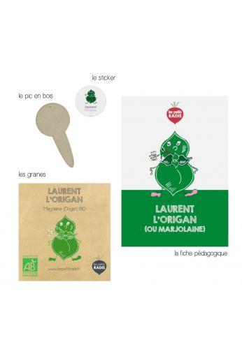Mini kit de graines BIO de Laurent l'origan
