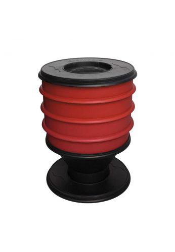 Lombricomposteur ECO-WORMS coloris brique
