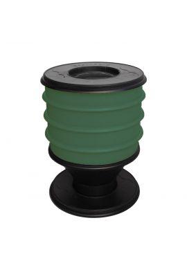 Lombricomposteur ECO-WORMS coloris vert sapin