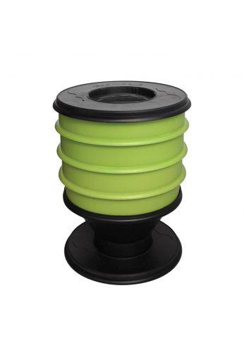 Lombricomposteur ECO-WORMS coloris vert clair