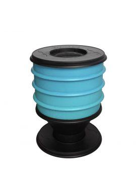 Lombricomposteur ECO-WORMS coloris bleu turquoise