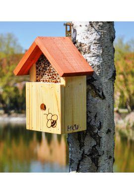 Hotel à insectes bénéfiques pollinisateurs modèle bourdons