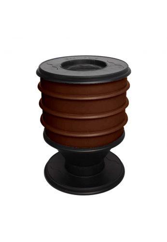 Lombricomposteur ECO-WORMS coloris marron-chocolat