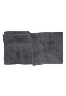 Serviette de toilette coton bio coloris Noir