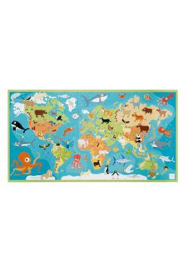 Puzzle XL les animaux du monde