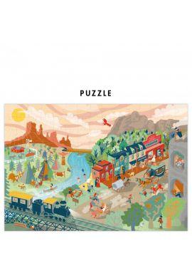 Mon puzzle à remonter le temps : retour au temps du far west