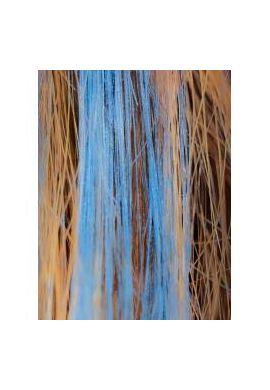 Mascara bio cheveux - Bleu