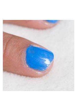 Coffret 3 vernis à ongles à base d'eau rose-blanc nacré-bleu ciel
