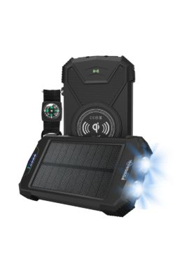 BELUGA / CHARGEUR SOLAIRE OUTDOOR BATTERIE 10 000MAH