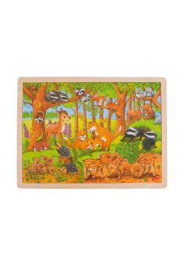 Puzzle bébés animaux de la forêt 48 pièces