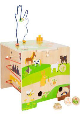 Cube de motricité la vie à la campagne