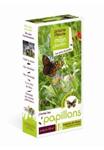 Prairies fleuries : j'invite les papillons 30 m2