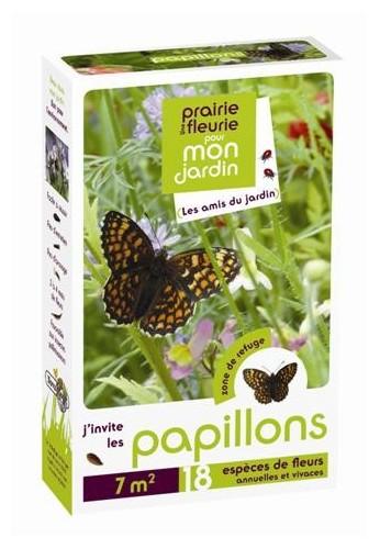 Prairies fleuries : j'invite les papillons 7 m2