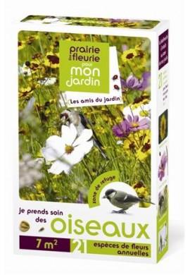 Prairies fleuries : je prends soin des oiseaux 7 m2