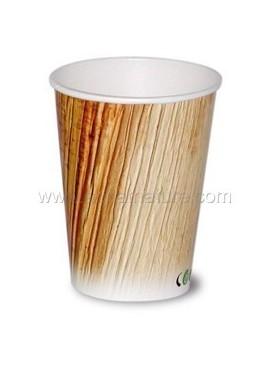 Gobelet Cellulose motif palmier 25 cl par 50