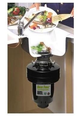 Broyeur de déchets Green force pour évier 0.50 cv