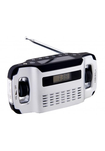 LYNX RADIO REVEIL SOLAIRE ET DYNAMO AFFICHAGE DIGITAL