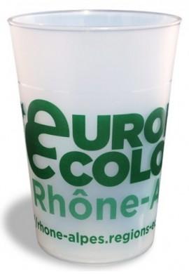 Pack de 200 éco-gobelets 30 cl, personnalisation 1 couleur
