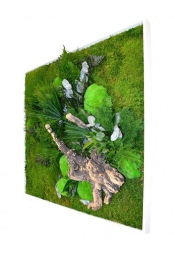 Tableau végétal gamme nature, carré XL 80 x 80 cm